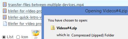 binfer-receive-files-download-zip